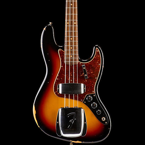 Fender Custom Shop 1964 Jazz Bass Relic Guitar-thumbnail