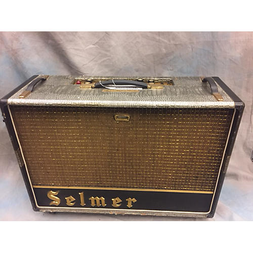 vintage selmer 1964 zodiac twin fifty tube guitar combo amp guitar center. Black Bedroom Furniture Sets. Home Design Ideas