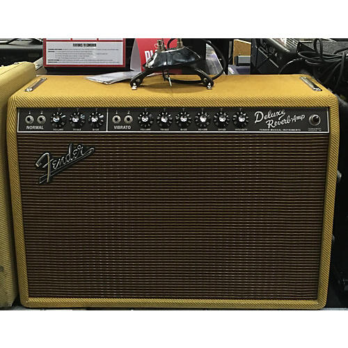 Fender 1965 Deluxe Reverb 22W Tube Guitar Amp Head-thumbnail