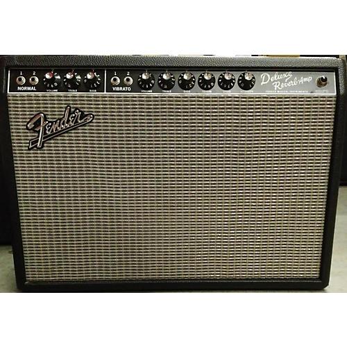 Fender 1965 Deluxe Reverb 22W Tube Guitar Amp Head-thumbnail