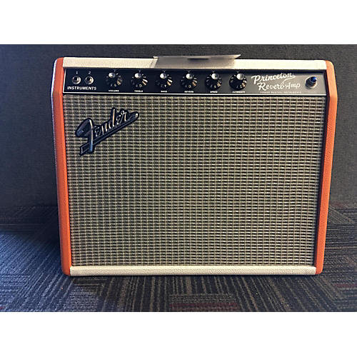 Fender 1965 Princeton Limited Edition 1965 Orange And White Tube Guitar Combo Amp