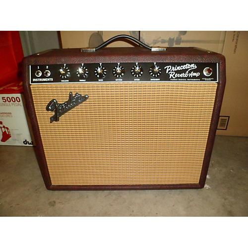 Fender 1965 Princeton Reverb 15W 1x10 Tube Guitar Combo Amp-thumbnail