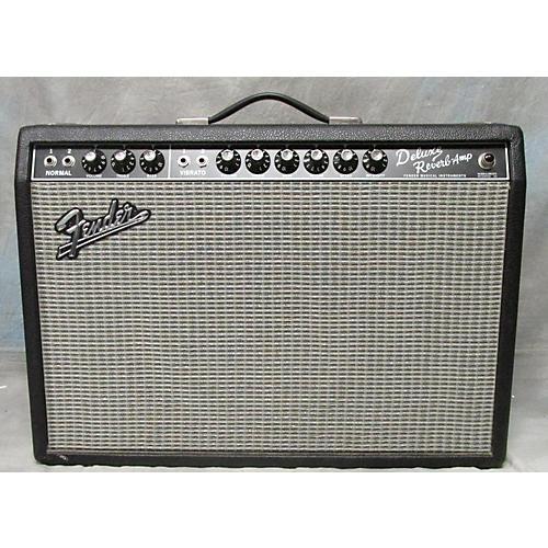 Fender 1965 Reissue Deluxe Reverb 22W 1x12 Tube Guitar Combo Amp-thumbnail
