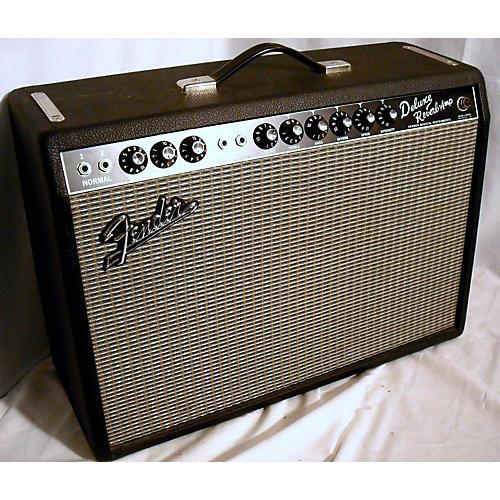 used fender 1965 reissue deluxe reverb 22w tube guitar amp head guitar center. Black Bedroom Furniture Sets. Home Design Ideas