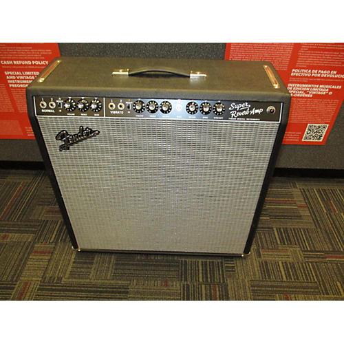 Fender 1965 Reissue Super Reverb 45W 4x10 Tube Guitar Combo Amp-thumbnail