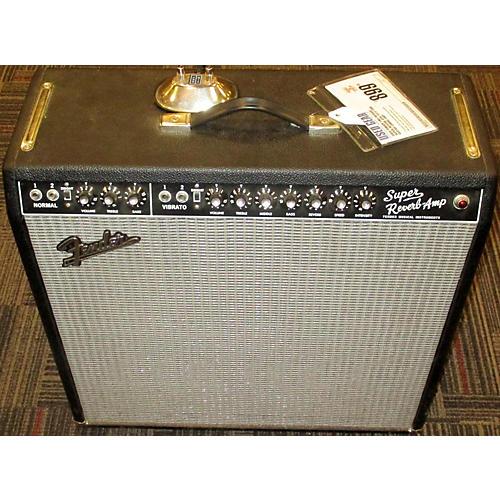 Fender 1965 Reissue Super Reverb 45W 4x10 Tube Guitar Combo Amp