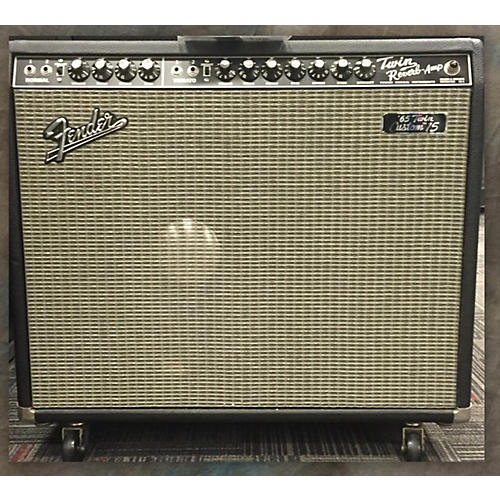 Fender 1965 Reissue Twin Custom 15 85W 1X15 Tube Guitar Combo Amp