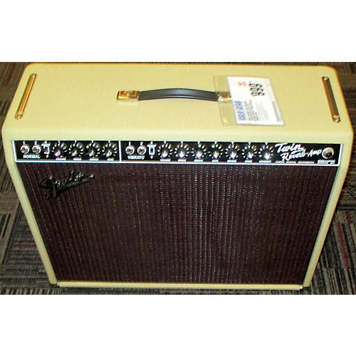 Fender 1965 Reissue Twin Reverb 85W 2x12 Blonde/Wheat Tube Guitar Combo Amp
