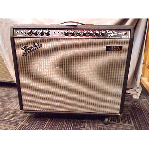 Fender 1965 Twin Custom 15 Tube Guitar Combo Amp-thumbnail