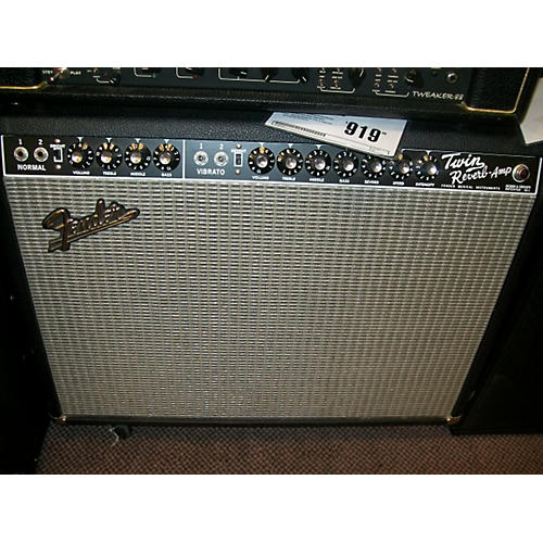 Fender 1965 Twin Reverb 85W 2x12 Tube Guitar Combo Amp