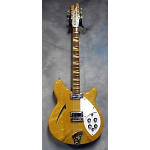 Vintage Rickenbacker 1966 360 Hollow Body Electric Guitar