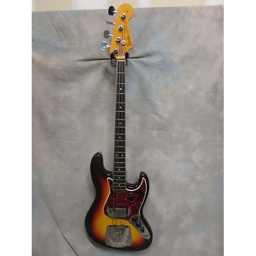 Fender 1966 Jazz Bass OHSC Electric Bass Guitar-thumbnail
