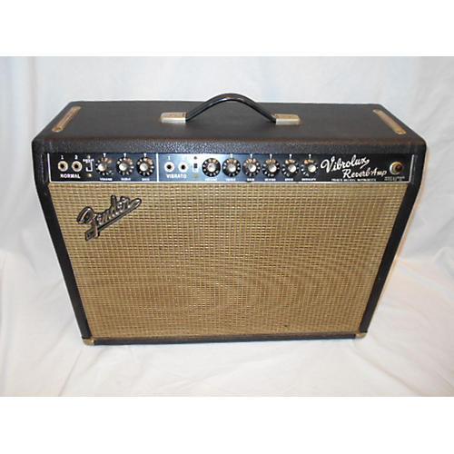 Fender 1966 Vibrolux Reverb Tube Guitar Combo Amp-thumbnail