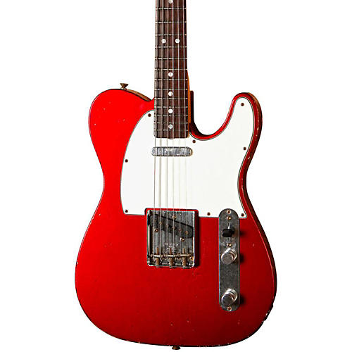 Fender Custom Shop 1967 Tele Relic Electric Guitar Candy Apple Red