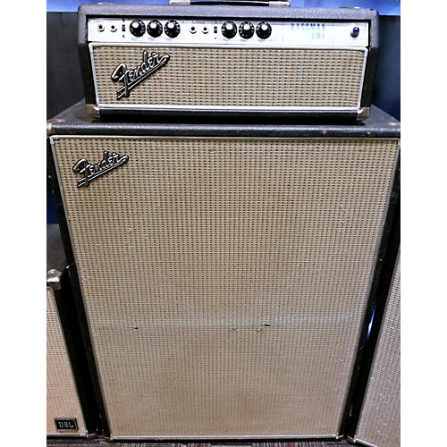 vintage fender 1968 bassman 50w 2x15 cabinet tube guitar amp head guitar center. Black Bedroom Furniture Sets. Home Design Ideas
