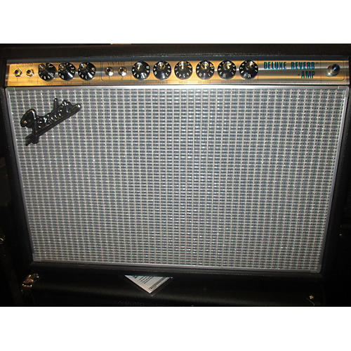 Fender 1968 Custom Deluxe Reverb 22W 1x12 Tube Guitar Combo Amp-thumbnail