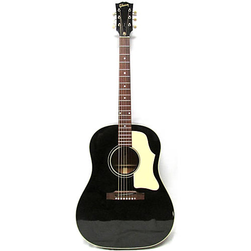 used gibson 1968 j45 reissue acoustic guitar ebony guitar center. Black Bedroom Furniture Sets. Home Design Ideas