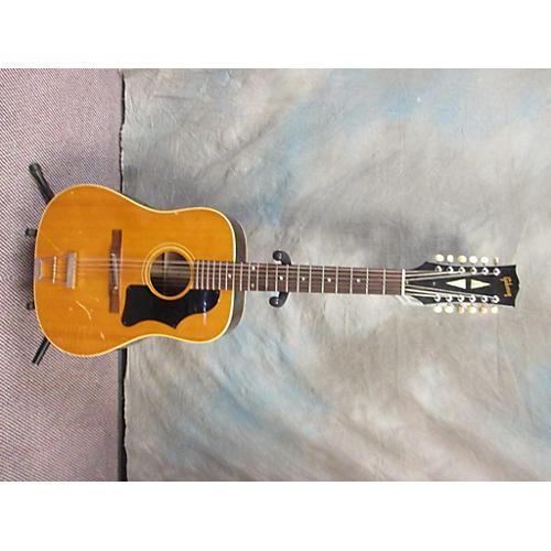 vintage gibson 1969 1965 b 45n 12 12 string acoustic guitar natural guitar center. Black Bedroom Furniture Sets. Home Design Ideas