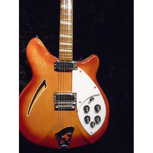 Rickenbacker 1970 360 Fireglo Hollow Body Electric Guitar-thumbnail