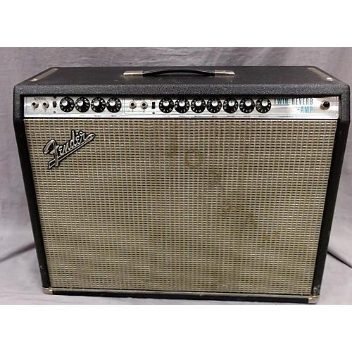 Fender 1970 Twin Reverb Tube Guitar Combo Amp-thumbnail