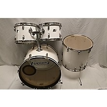 Ludwig 1970s 1970s Ludwig 4Pc Kit White Drum Kit