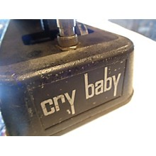 Dunlop 1970s 1970's Thomas Organ Cry Baby Wah Effect Pedal