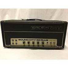 Sound City 1970s 50 PLUS Tube Guitar Amp Head
