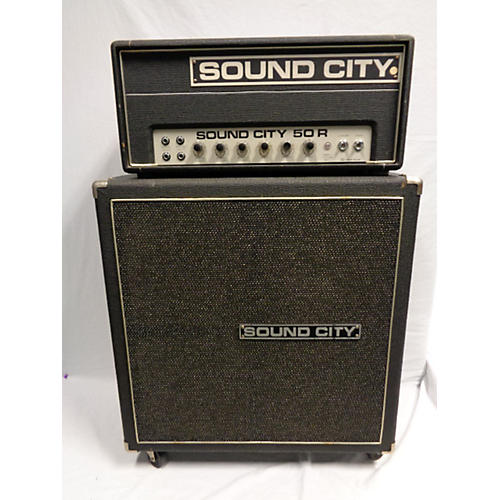 Sound City 1970s 50R Tube Guitar Amp Head