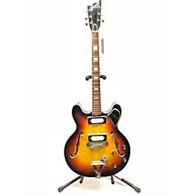Univox 1970s 70'S COILY Hollow Body Electric Guitar