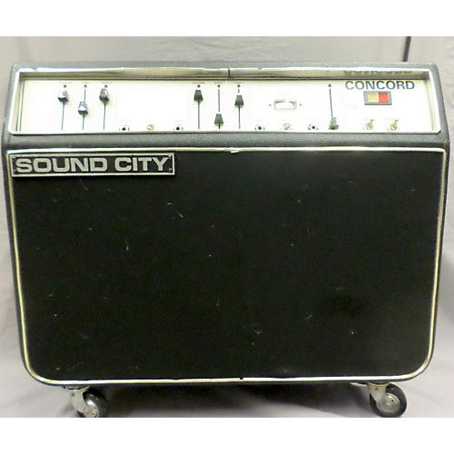 Sound City 1970s Concord Tube Guitar Combo Amp-thumbnail