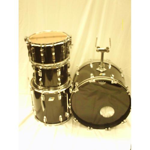 Vintage ludwig 1970s drum set drum kit black guitar center for Classic house drums