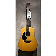 Takamine 1970s F385LH 12 String Acoustic Guitar