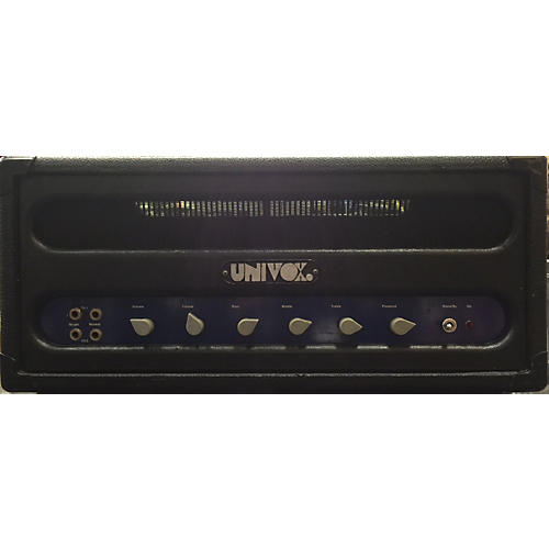 Univox 1970s U1246 Tube Bass Amp Head-thumbnail