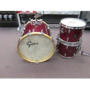 Gretsch Drums 1970s USA Maple Custom Stop Sign Badge Drum Kit