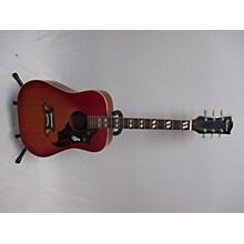 Ventura 1970s V235 Sunburst Acoustic Guitar