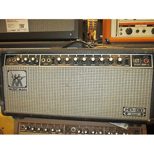 Ernie Ball Music Man 1971 HD130 Tube Guitar Amp Head-thumbnail