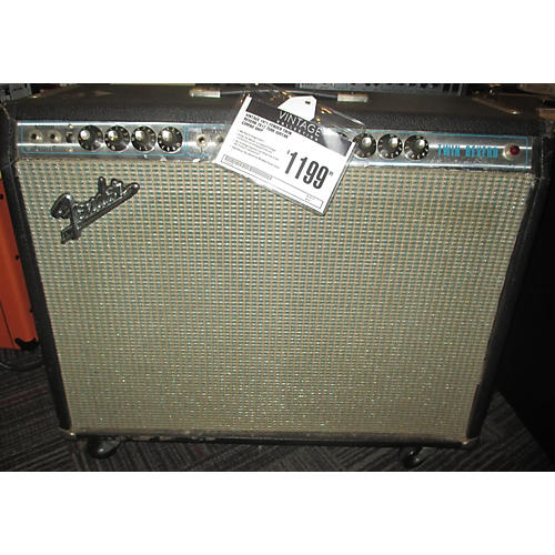 Fender 1971 Twin Reverb 2x12 Tube Guitar Combo Amp