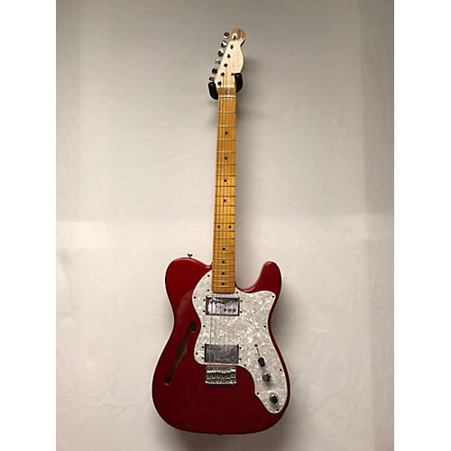 Fender 1972 American Vintage Telecaster Thinline Solid Body Electric Guitar-thumbnail