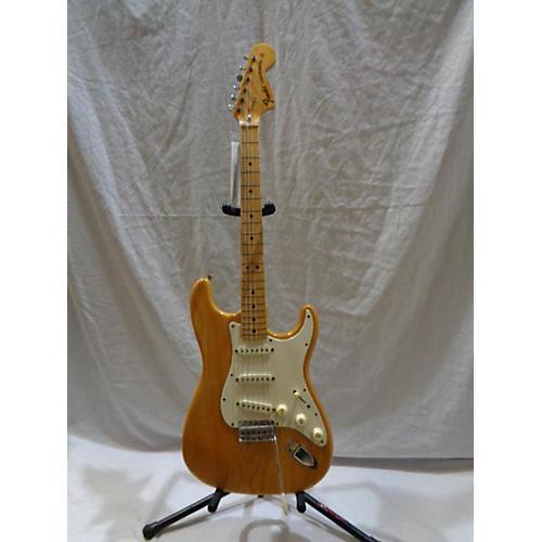 vintage fender 1972 fender stratocaster natural ohsc solid body electric guitar natural guitar. Black Bedroom Furniture Sets. Home Design Ideas