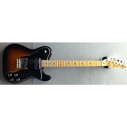 Fender 1972 Reissue Custom Telecaster 3 Color Sunburst Solid Body Electric Guitar