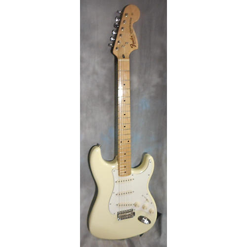 Fender 1972 Reissue Stratocaster Solid Body Electric Guitar Olympic White