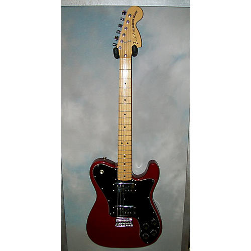 Fender 1972 Reissue Telecaster Deluxe Solid Body Electric Guitar Burgundy