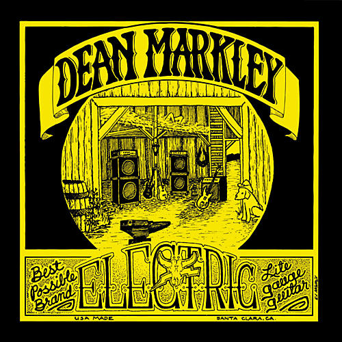 Dean Markley 1972 Vintage Reissue Light Electric Guitar Strings 12-Pack