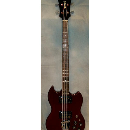 Guild 1973 Jet Star II OHSC Electric Bass Guitar-thumbnail