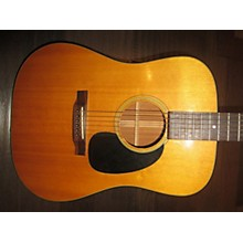 Martin 1973 Martin D-18 OHSC Acoustic Guitar