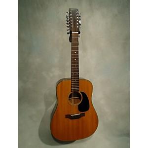 Vintage Martin 1974 D-12 18 12 String Acoustic Guitar