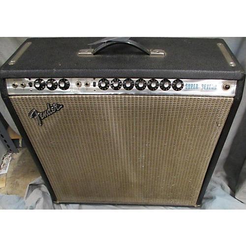 Fender 1974 Super Reverb 4x10 Tube Guitar Combo Amp-thumbnail