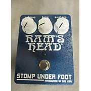 Stomp Under Foot 1975 Rams Head V3 Blue Effect Pedal