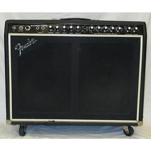 Fender 1975 SUPER TWIN Tube Guitar Combo Amp-thumbnail