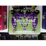 Stomp Under Foot 1976 RAM'S HEAD DLX Effect Pedal
